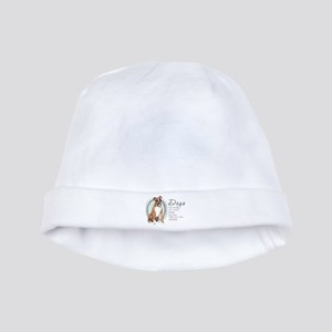 Dogs Make Lives Whole -Boxer baby hat