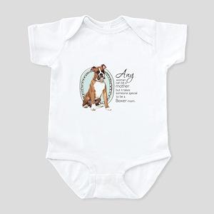 Boxer Mom Infant Bodysuit