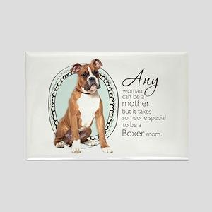 Boxer Mom Rectangle Magnet