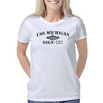 USS MICHIGAN Women's Classic T-Shirt
