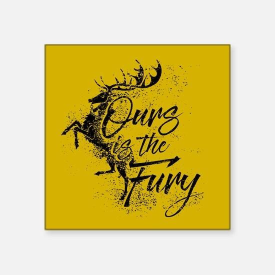 GOT Baratheon Ours Is The Fury Sticker