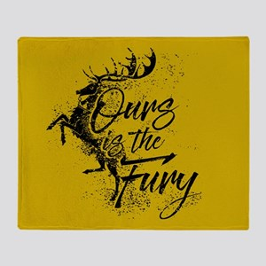 GOT Baratheon Ours Is The Fury Throw Blanket