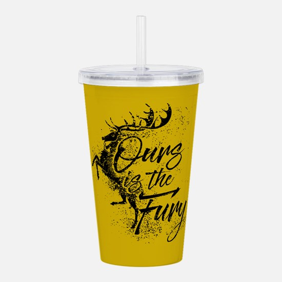 GOT Baratheon Ours Is The Fury Acrylic Double-wall