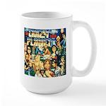 Large Crazy Planet Band Mug