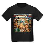 Crazy Planet Band Kids Black T-Shirt