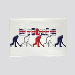 British Field Hockey Rectangle Magnet