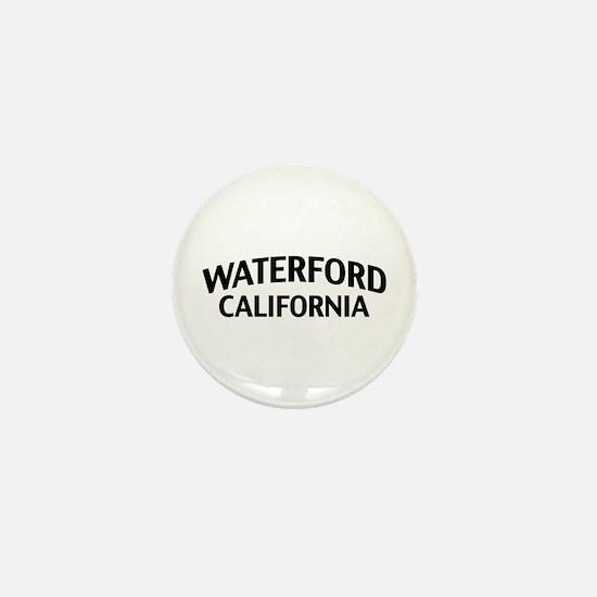 Waterford California Mini Button