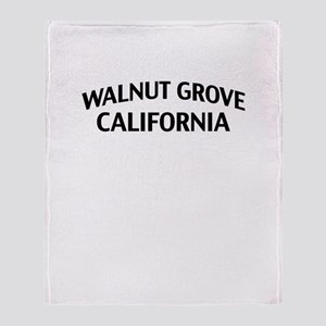 Walnut Grove California Throw Blanket