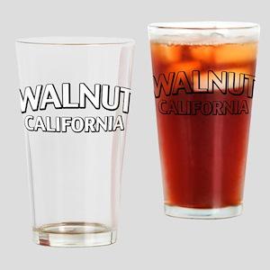 Walnut California Drinking Glass