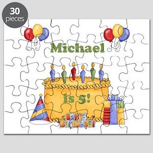 Boys Personalized Birthday Puzzle