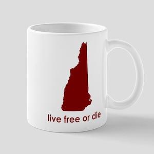 RED Live Free or Die Mug