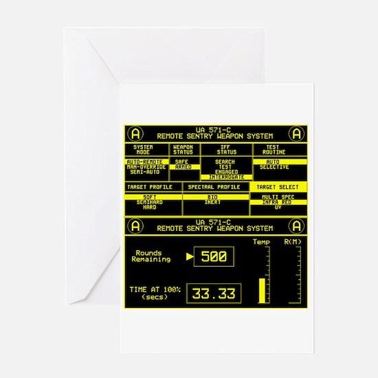 UA 571-C Remote Sentry System Greeting Card