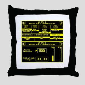 UA 571-C Remote Sentry System Throw Pillow