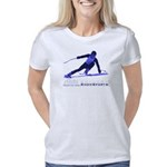 2-shirt skier 2010 Women's Classic T-Shirt