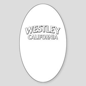 Westley California Sticker (Oval)