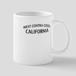 West Contra Costa California Mug