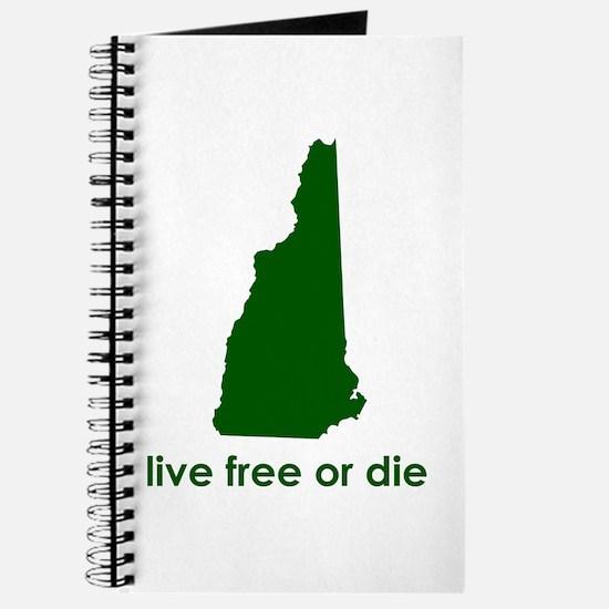 GREEN Live Free or Die Journal