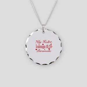 Paramedic Design Necklace Circle Charm