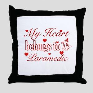Paramedic Design Throw Pillow