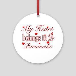Paramedic Design Ornament (Round)