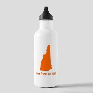 ORANGE Live Free or Die Stainless Water Bottle 1.0