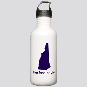 PURPLE Live Free or Die Stainless Water Bottle 1.0