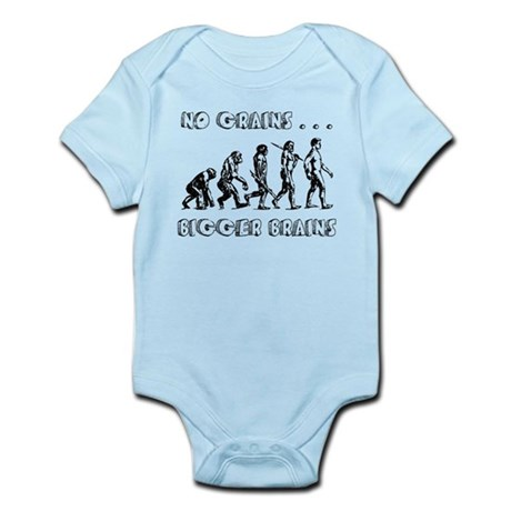 No Grains, Bigger Brains Infant Bodysuit