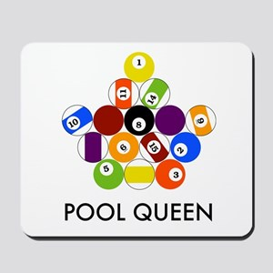 Pool Queen Mousepad