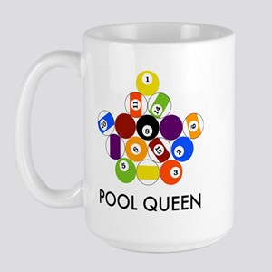 Pool Queen Large Mug