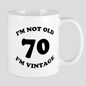 70th Funny Birthday Mug