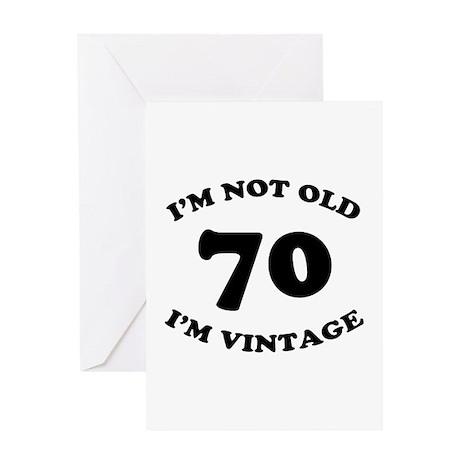70th Funny Birthday Greeting Card