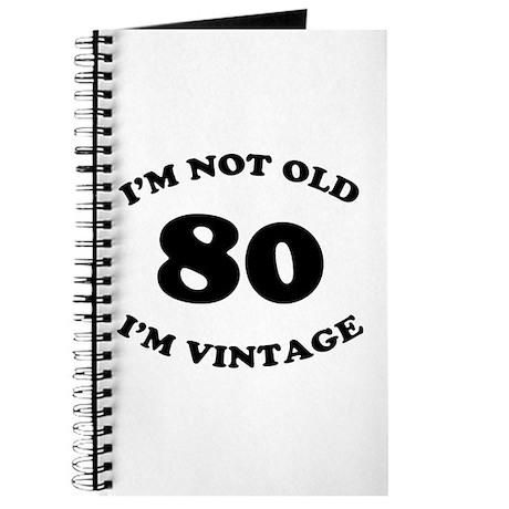 80th Funny Birthday Journal