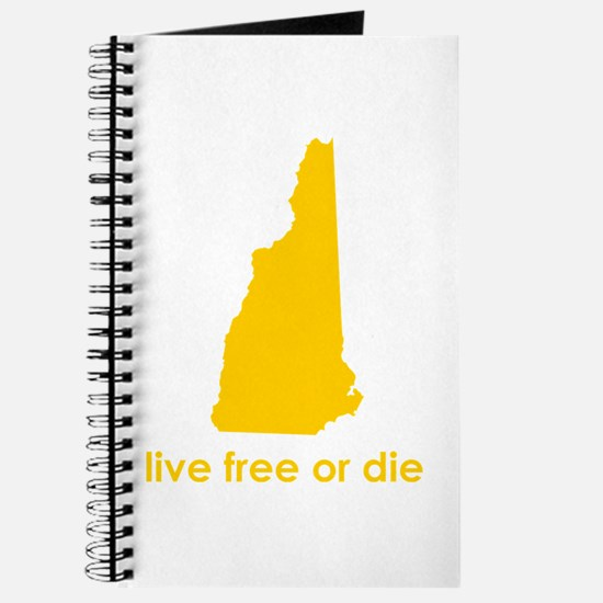 YELLOW Live Free or Die Journal