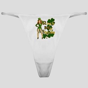 Rock My Shams Irish Pin Up Classic Thong