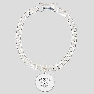 Stay Positive Charm Bracelet, One Charm