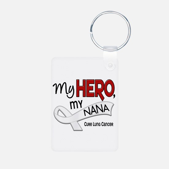 My Hero Lung Cancer Keychains