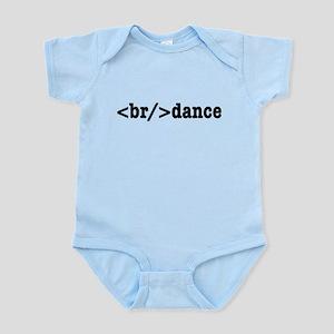 breakdance HTML Infant Bodysuit