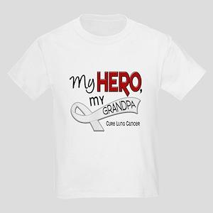 My Hero Lung Cancer Kids Light T-Shirt