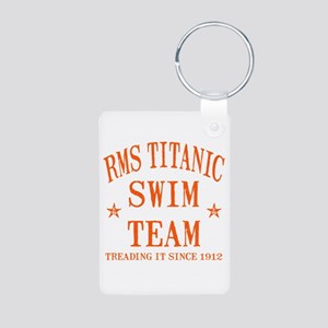 Titanic Swim Team Aluminum Photo Keychain