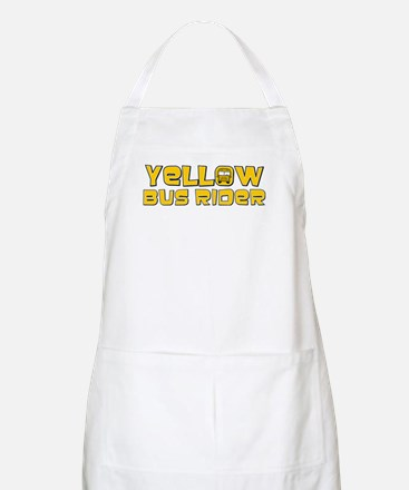 Yellow Bus Rider BBQ Apron