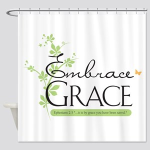 Embrace Grace Shower Curtain