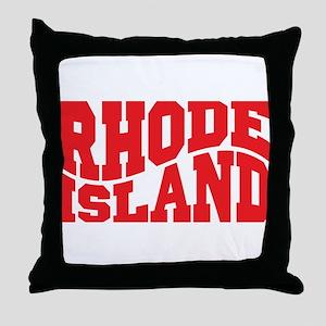 Rhode Island Throw Pillow