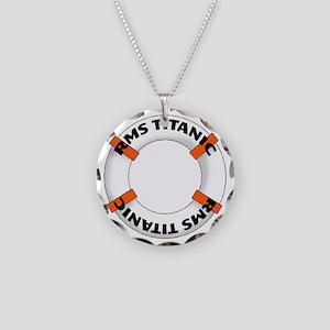RMS Titanic Necklace Circle Charm