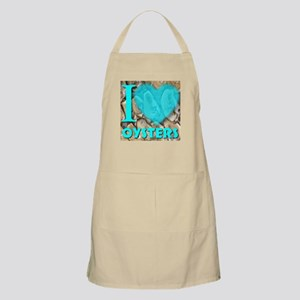 I (Heart) Oysters Apron