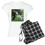 Schutzhund American Bulldog Women's Light Pajamas