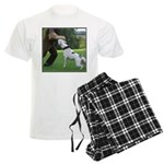 Schutzhund American Bulldog Men's Light Pajamas