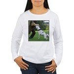 Schutzhund American Bulldog Women's Long Sleeve T-