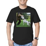 Schutzhund American Bulldog Men's Fitted T-Shirt (