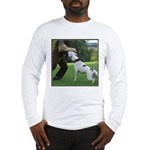 Schutzhund American Bulldog Long Sleeve T-Shirt