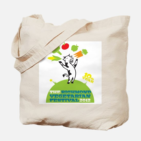 White RVF 2012 Tote Bag